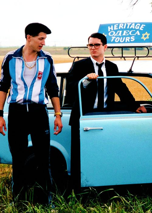 Everything Is Illuminated - Eugene Hutz & Elijah Wood. Love that movie :)