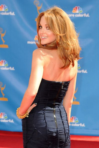 jayma mays back of her hair | More Pics of Jayma Mays Medium Layered Cut (5 of 14) - Medium Layered ...