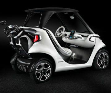 El carrito de golf de #MercedesBenz