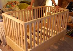 Build a fully-functional, no-frills crib over the course of a few weekends. No woodworking experience required. Lessons learned, practical advice, and hand-holding for the first-time builder. Fully illustrated, with real pictures.* ALL PROCEEDS GO DIRECTLY TO MY SON'S 529 COLLEGE FUND *