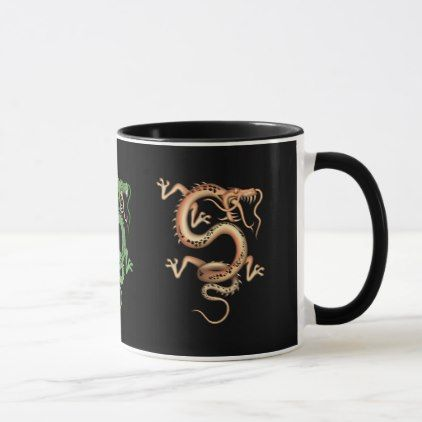 Mystical Dragon Mug - animal gift ideas animals and pets diy customize