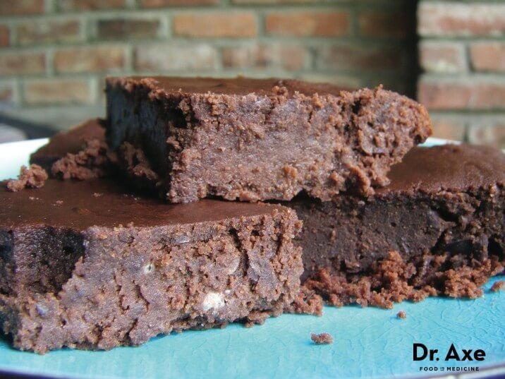 3 Thick Slices of Black Bean Brownies