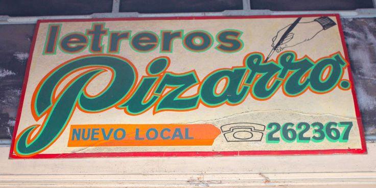 Via Letrera | Letreros Pizarro