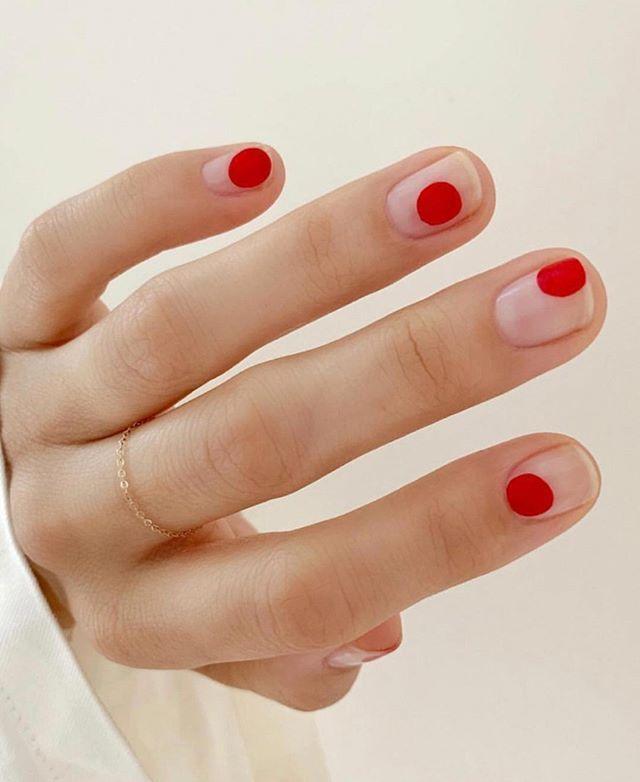 Idee für die Nägel der Woche #nageldesignred   – Nageldesign