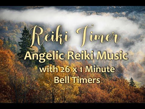 Reiki Healing Music with 24 x 3 minute Tibetan Bell Timer - 1 hour and 12 minutes - YouTube