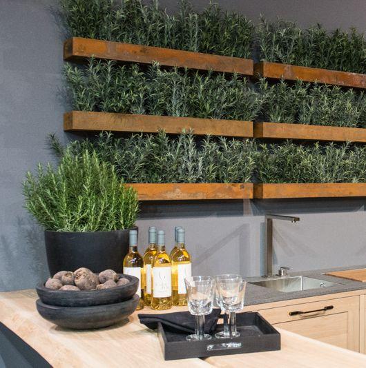 Kitchen Bench Herb Garden: 55 Best Indoor Herb Gardens Images On Pinterest