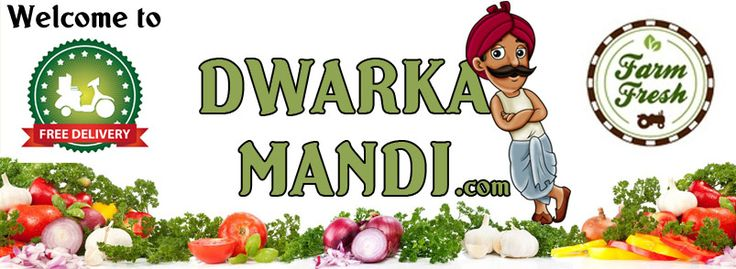 Save time money & efforts, shop at http://www.dwarkamandi.com/ The best online #fruits & #vegetables store. Yes, we have a free delivery service as well.