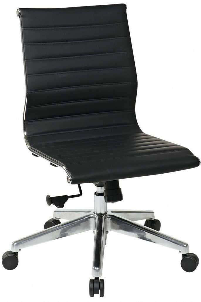 Armless Office Chairs On Wheels