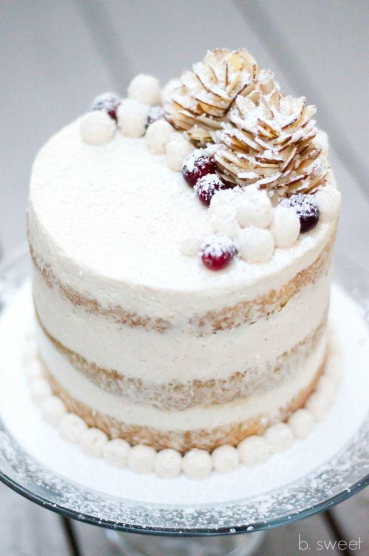 Eggnog Cake - b. sweet