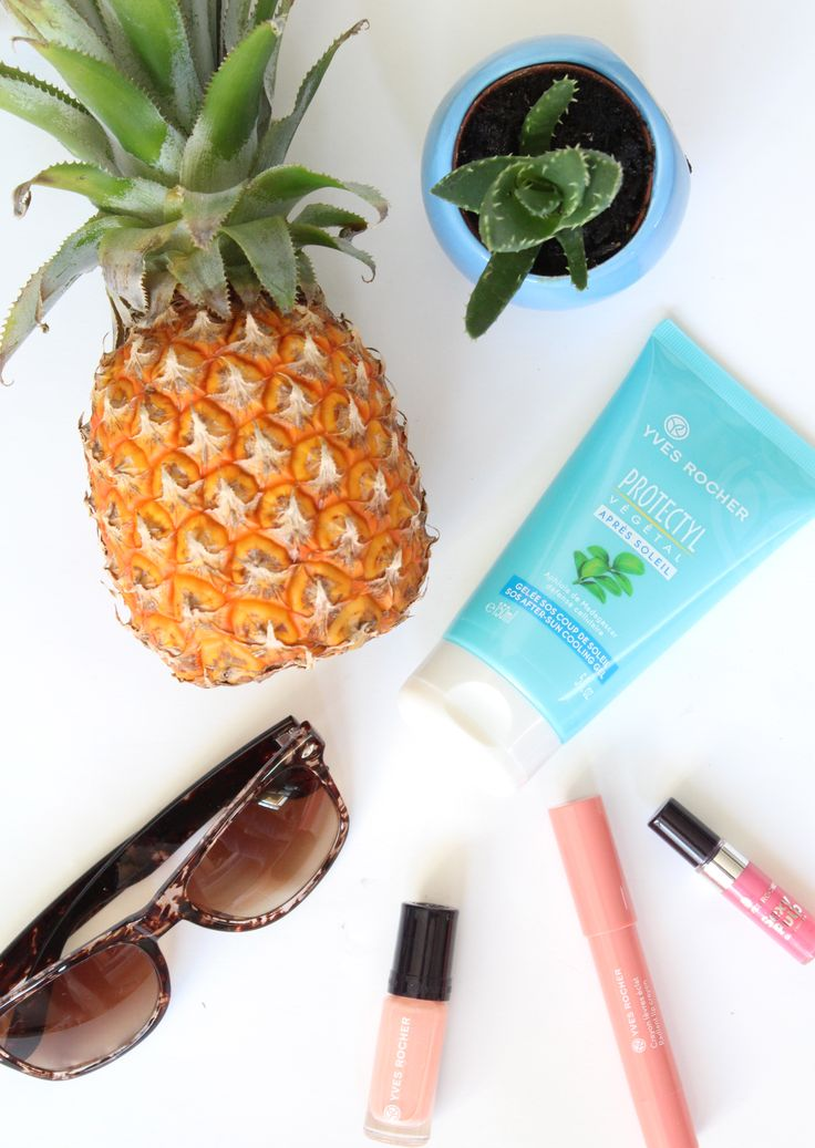 SOS After Sun Cooling Gel - Soothe sunburned skin! - Yves Rocher Belgium