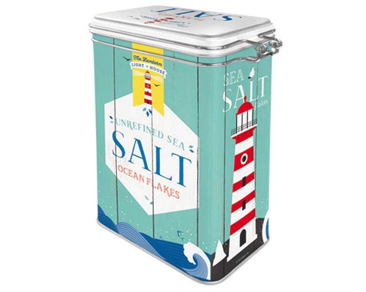 Teburk SALT 400 g Plåtburkar