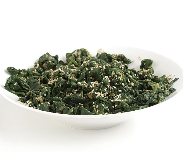 Japanese Spinach with Sesame and Soy recipe