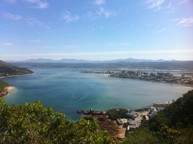 View from Knsyna Heads, South Africa