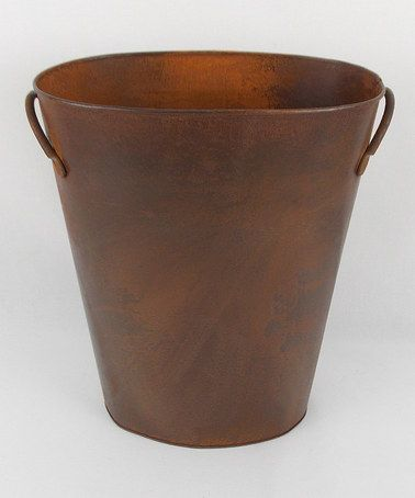 Another great find on #zulily! Rustic Waste Basket #zulilyfinds