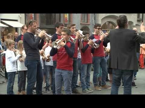"""Flashmob """"Ode an die Freude"""" - Unser Land Tirol"""
