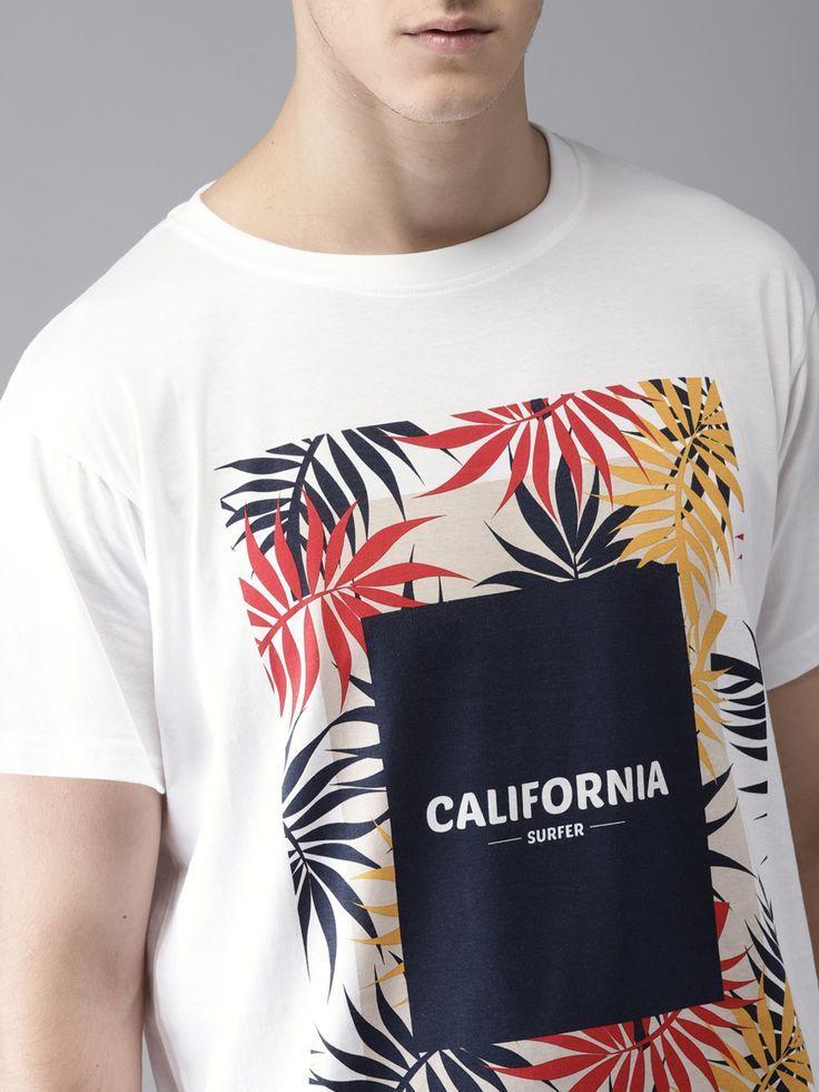 Superdry Men/'s Optic White Logo Print Longline Crew-Neck Short Sleeve T-Shirt