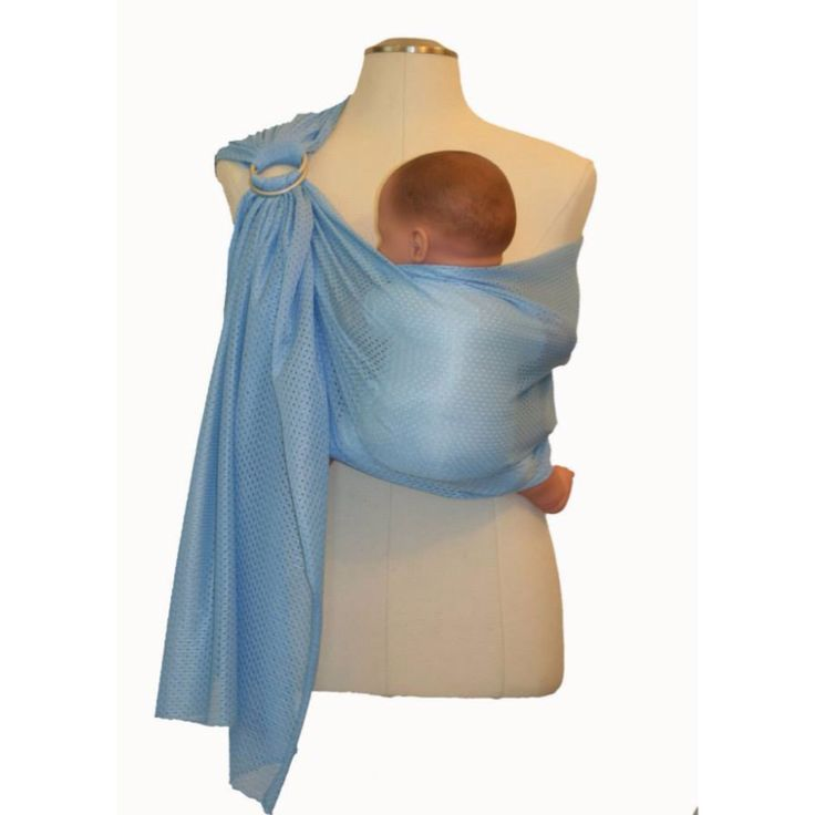 How To Wear A Ring Sling With Toddler