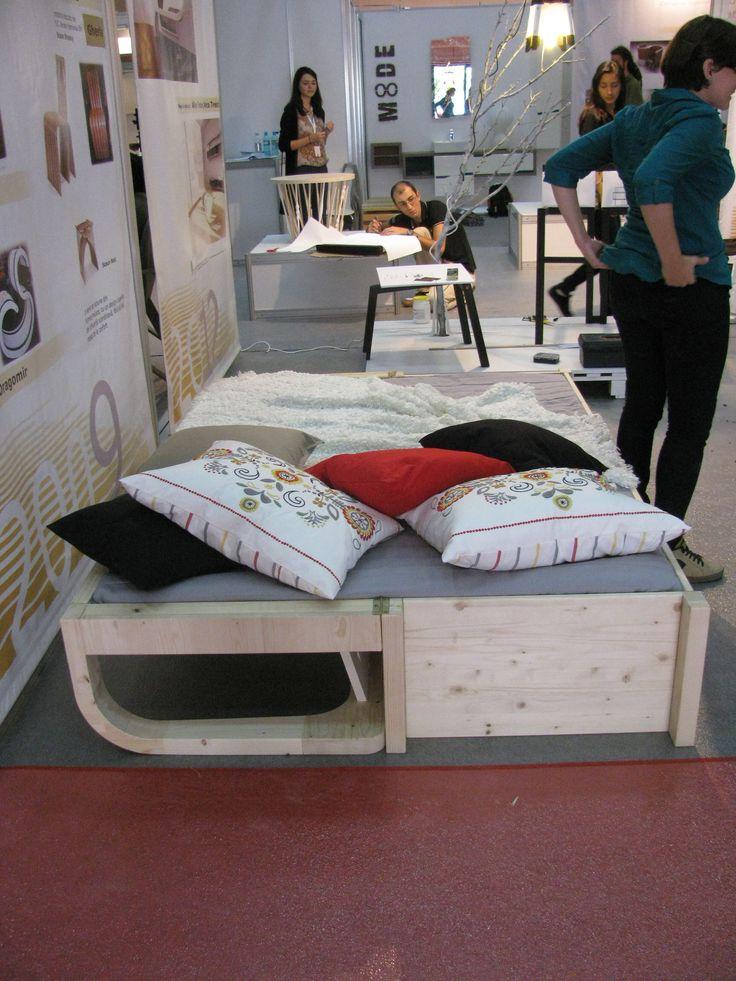 La Designarie at BIFE 2014 Swedish Bench Designer: Anamaria Bica and Ina Pop https://www.facebook.com/ladesignarie?fref=ts