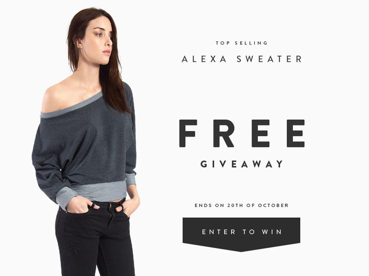 Enter to #win a Top Selling Alexa Off Shoulder Top By CUTE+BROKE