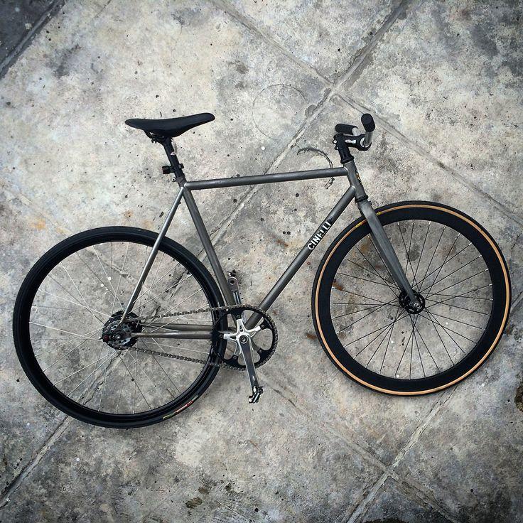 1st look of Rawzzetta..  a Cinelli Gazzetta stripped to it's beauty. truly a KalawangFXD bike!