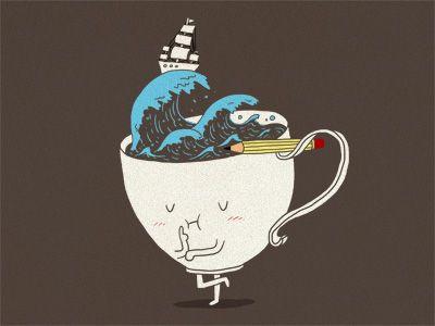 brainstorm and coffeeee