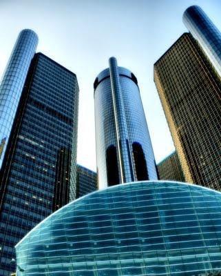 General Motors World Headquarters Renaissance Center Detroit
