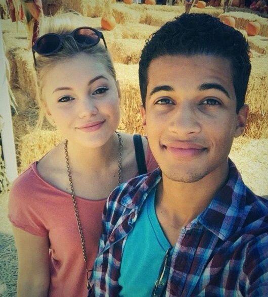 Olivia Holt and Jordan Fisher