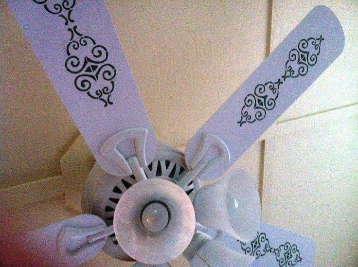 Refinishing Painted Ceiling Fan Blades Designs Ideas : Modern ...
