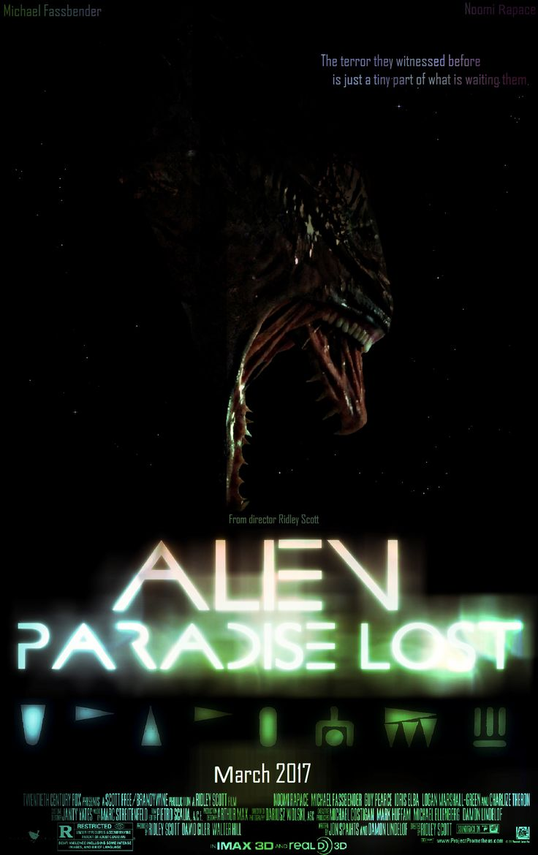 My Alien Paradise lost posters | Alien: Paradise Lost - Scified.com