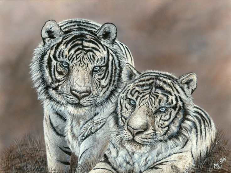 """Realism by Amy Keller-Rempp Art. """"Power And Beauty"""", 24"""" by 32"""", acrylic on wood. Original sold, very popular in giclee prints and fine art cards."""