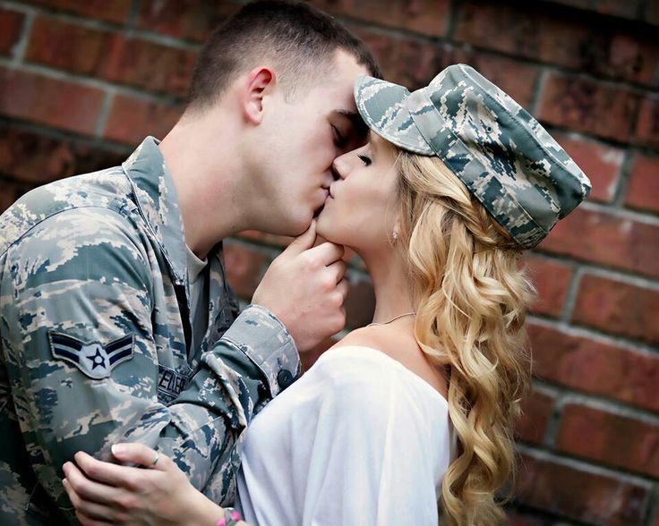 2 year wedding anniversary pic ideas :) Airforce