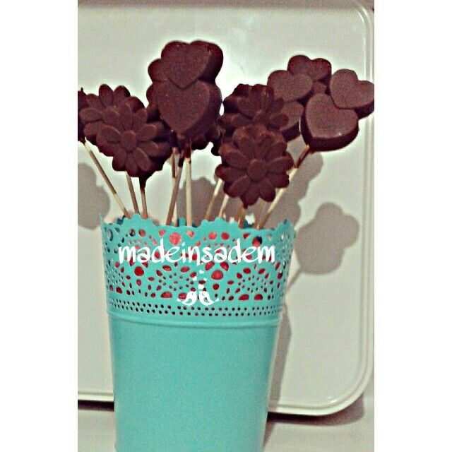 Çikolata cubuklari. Babyshower ve Bebek mevlutleri soz nisan çikolatalari yapılır
