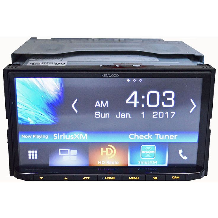 Kenwood DMX7704S 2 DIN Android iPhone HD Radio Bluetooth Media Player Car Stereo #Kenwood