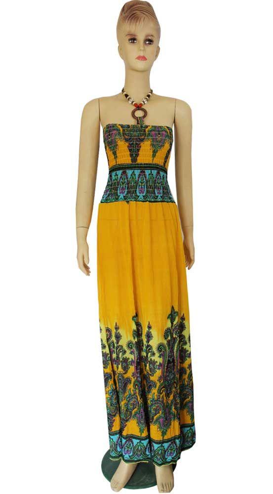 Wedding sundresses for the beach d05 summer boho beach for Summer maxi dresses weddings