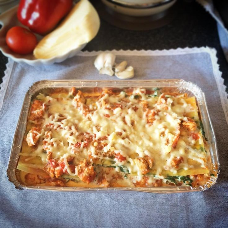 DELISH CHICKEN LASAGNE