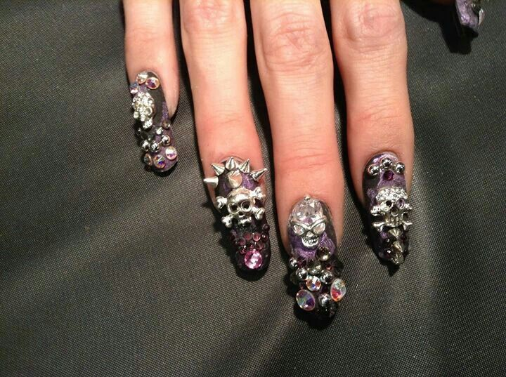 Extreme Nail Art Nailspiration Just Fun Nails