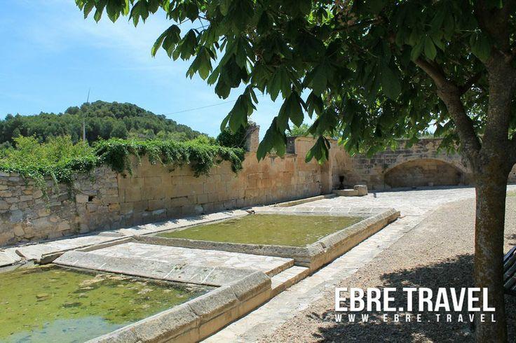 Aigua, pedra, tranquil·litat... #VilalbadelArcs, a la #TerraAlta.  Agua, piedra, tranquilidad...#VilalbadelsArcs, en la #TerraAlta.  Water, stones, calm... #VilalbadelsArcs, in #TerraAlta.