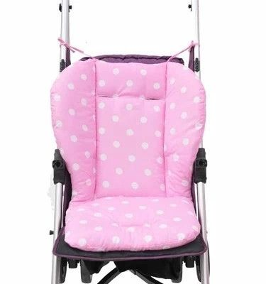 Baby Infant Stroller Seat Pushchair Cushion Cotton Mat Rainbow Color Soft Thick Pram Cushion Chair BB Car Seat Cushion