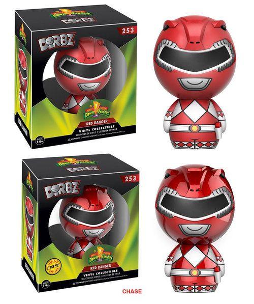 Figuras de vinilo, tamaño aprox. 8 cm.Los tenemos surtidos en esta proporción:- 5x Figuras Red Ranger Classic- 1x Figura Red Ranger VariantFabricante: FUNKO