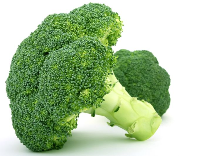 Broccoli: Good for your immune-system and full of vitamins, minerals and anti-oxidants.