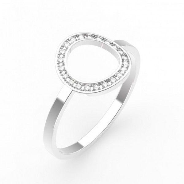 Bague de fiançailles en or blanc et tourmaline - Bague: Gemmyo, modèle Sky - La Fiancée du Panda blog Mariage et Lifestyle