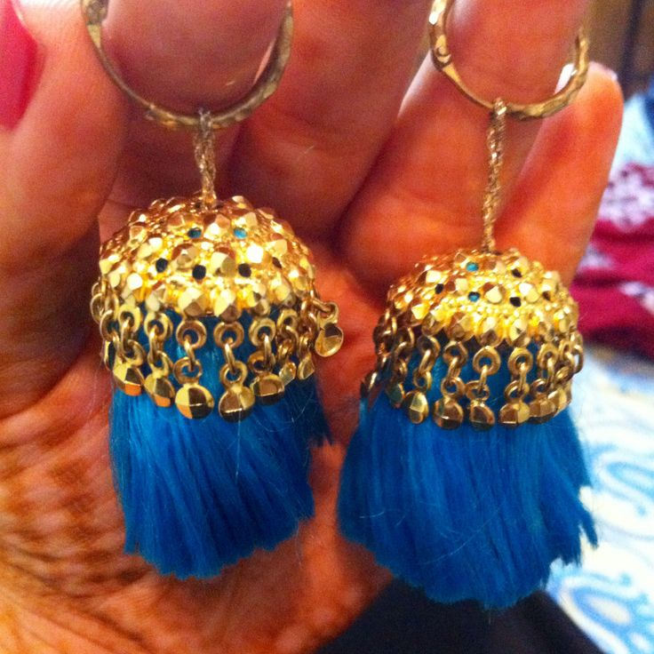 traditional punjabi gold earrings vintage style mostly