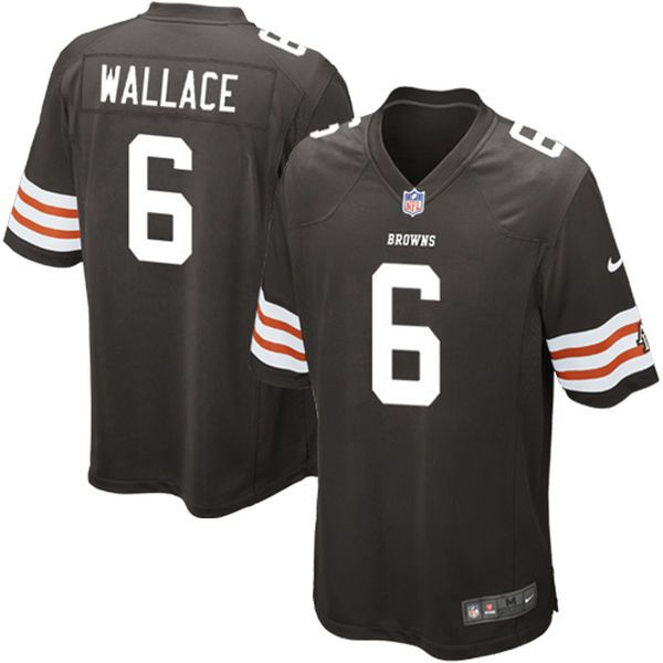 Nike Seneca Wallace Cleveland Browns Historic Logo Youth Game Jersey - Brown - $19.99
