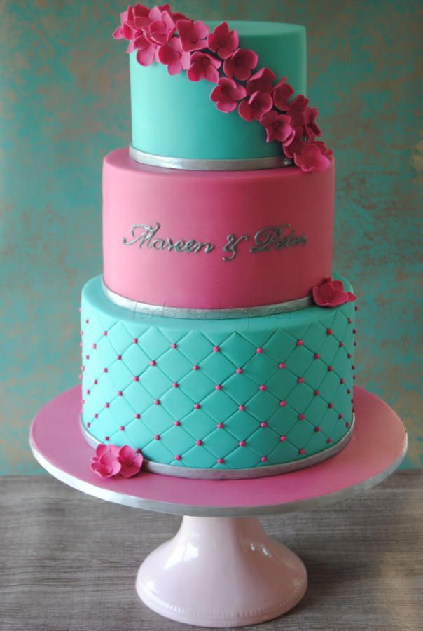 17 Best Images About Cakes Tiffany Blue On Pinterest