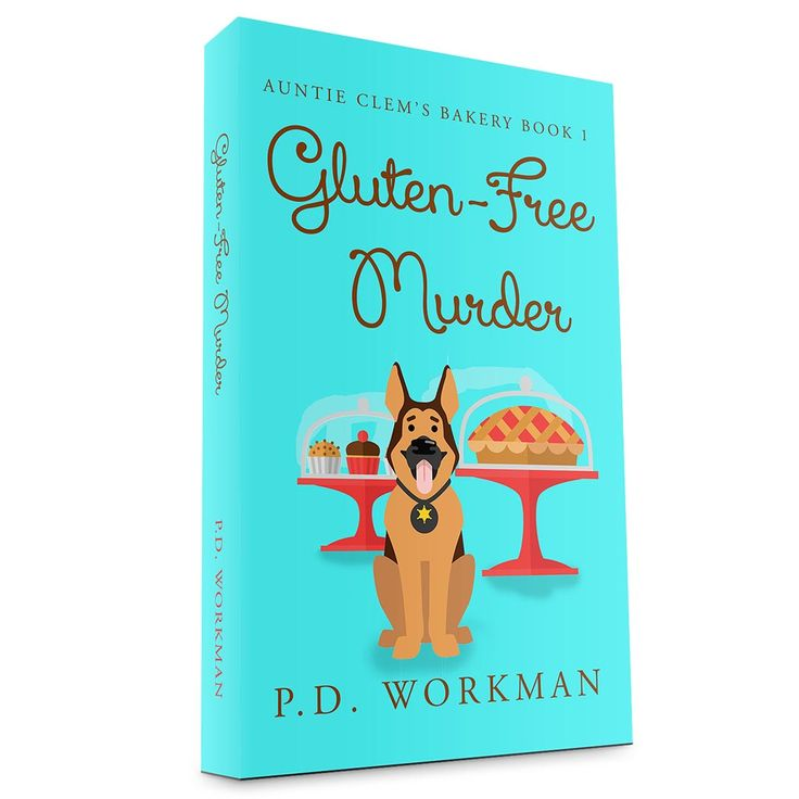 Available for preorder now! More to come! #cozy #mystery #gluten-free