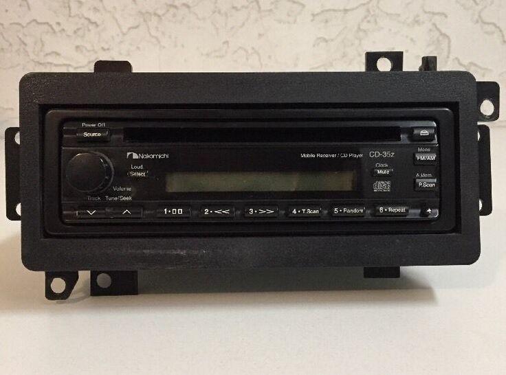 Nakamichi CD-35Z AM/FM Radio In Dash CD Player Car Stereo System  | Consumer Electronics, Vehicle Electronics & GPS, Car Audio | eBay!
