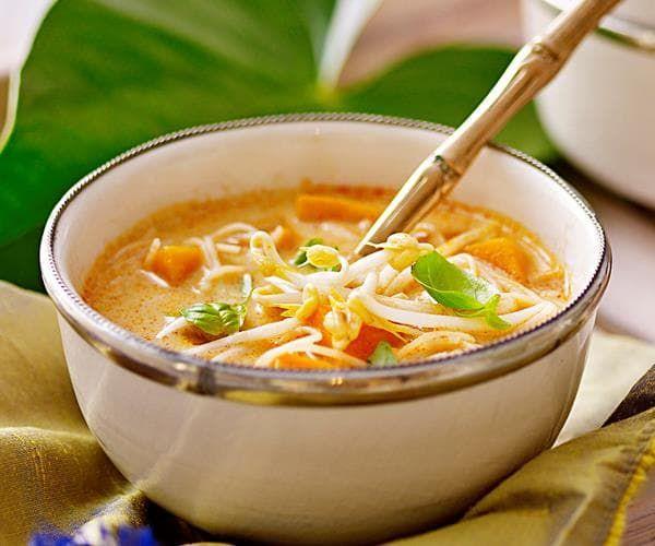 тыквенный суп с лапшой