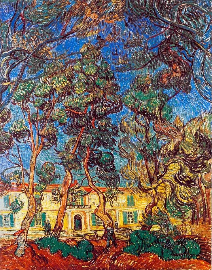 Van Gogh, garden of St Paul