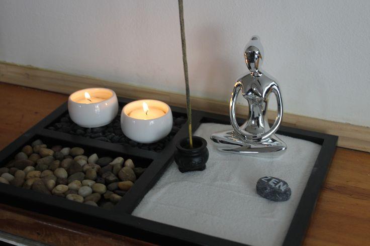 Jardin Zen mujer- Medidas: 30 x 20 cms base, 12 cms de alto-  Precio: $ 18.900-  Para comprar comunicarse al +56 9 66986319, o escribir a mandala.puq@gmail.com-  Más información en: http://tiendamandala.blogspot.com/2015/03/jardin-zen-meditar-y-contemplar-en-la.html