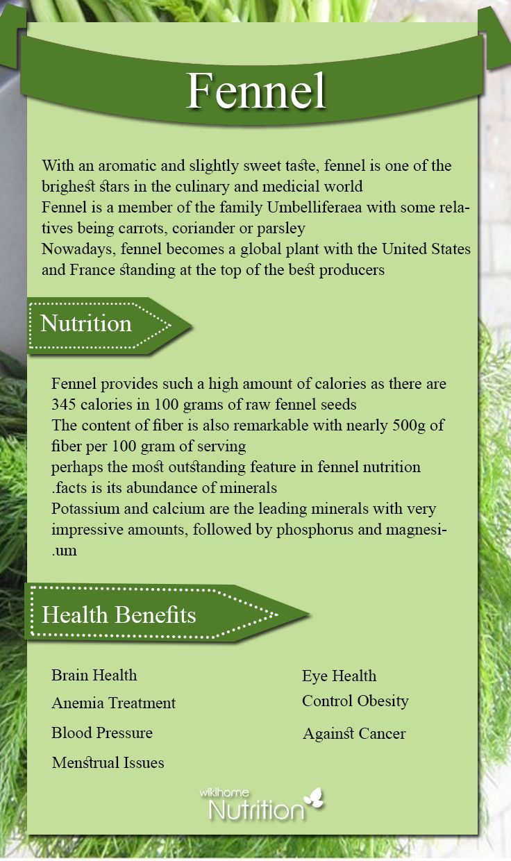 Healthy Food – Fennel: Nutrition Facts and Health Benefits